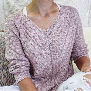 Soft Dusty Rose Sweater